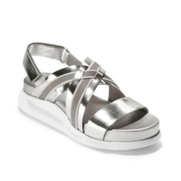 e41f1e290637 Cole Haan Zerogrand Crisscross Platform Sandals